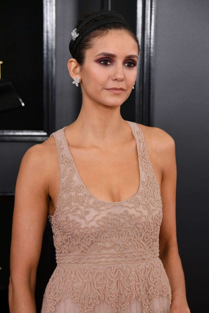 Nina Dobrev – 2019 Grammy Awards in Los Angeles