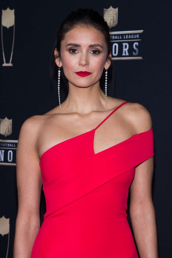 Nina Dobrev – 2019 NFL Honors in Atlanta