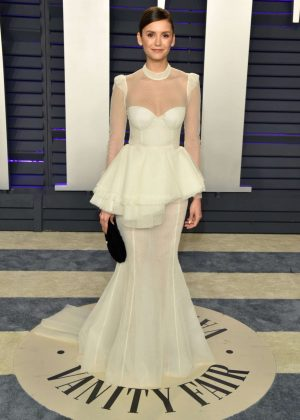 Nina Dobrev - 2019 Vanity Fair Oscar Party in Beverly Hills