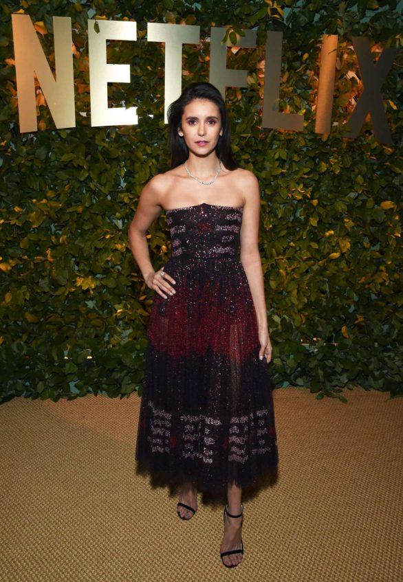 Nina Dobrev - 2020 Netflix Golden Globes After Party in Los Angeles