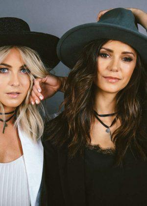 Nina Dobrev and Julianne Hough - The Giving Keys Photoshoot