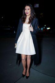 Nina Dobrev - Arrives at Guggenheim International Gala in New York