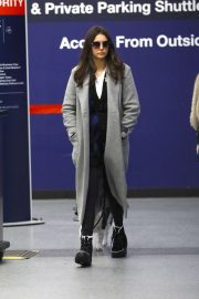 Nina Dobrev - Arrives at LAX airport in Los Angeles
