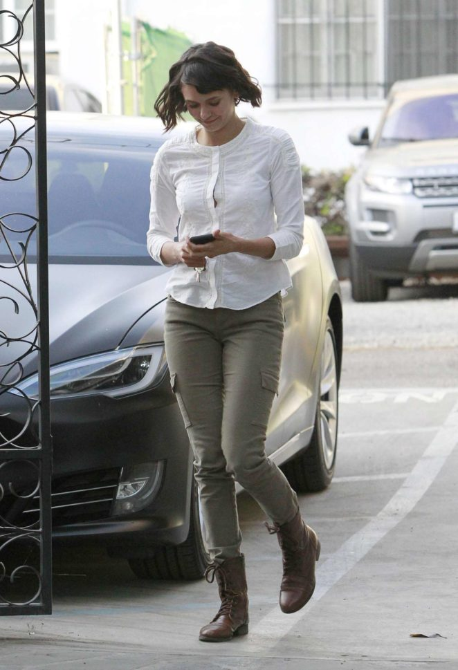 Nina Dobrev: Arrives at Nine Zero Salon -05