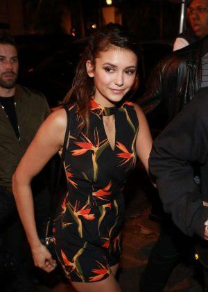 Nina Dobrev - Attends Vin Diesel's Party in Sao Paulo