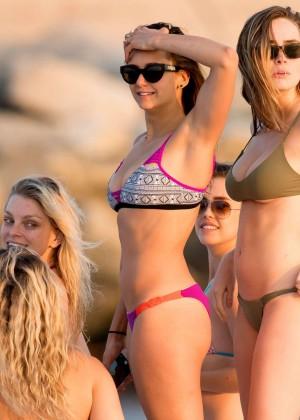 Nina Dobrev in Bikini -04