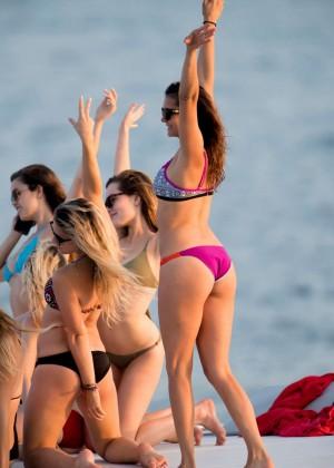 Nina Dobrev in Bikini -09