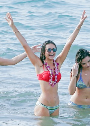 Nina Dobrev Hot in Bikini -17