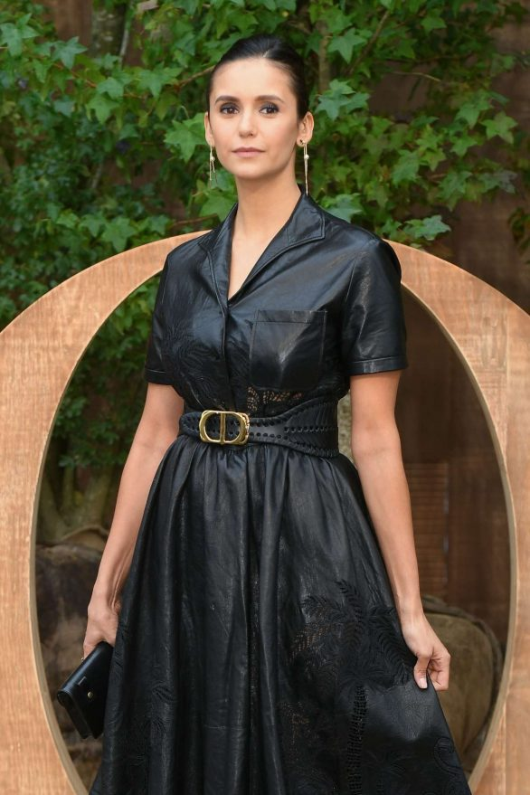 Nina Dobrev - Christian Dior Womenswear SS 2020 at Paris Fashion Week