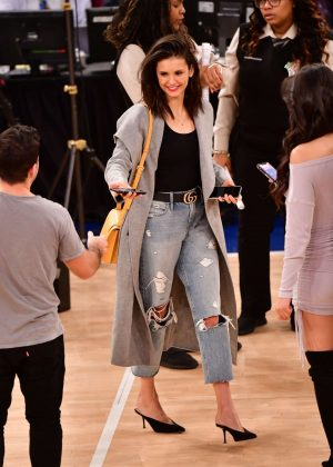 Nina Dobrev - Cleveland Cavaliers v New York Knicks Game in NYC