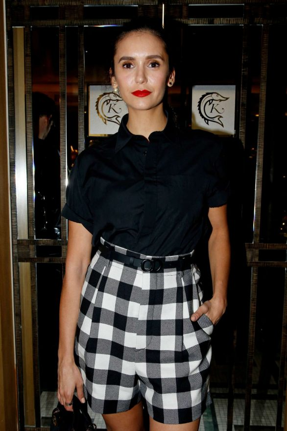 Nina Dobrev - Dior Beauty Dinner SS 2020 at Paris Fashion Week