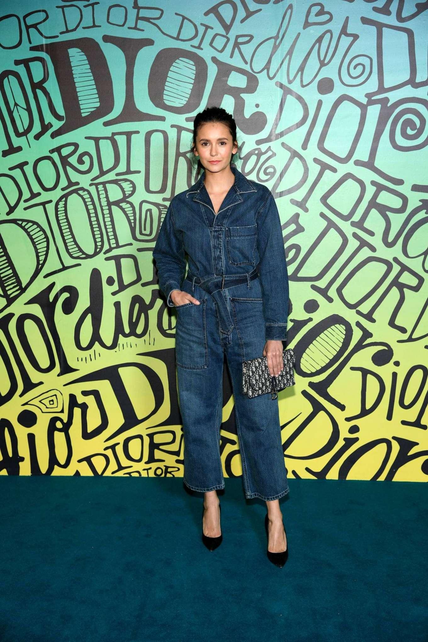 Nina Dobrev - Dior Men's Fall 2020 Runway Show in Miami