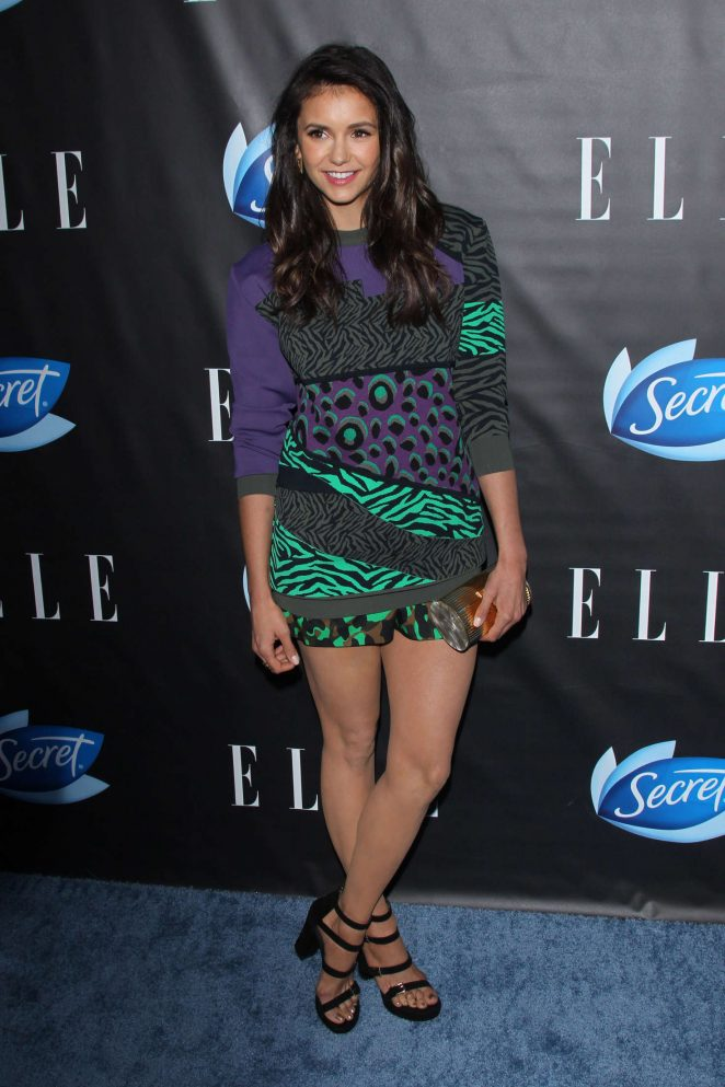 Nina Dobrev - ELLE Hosts Women In Comedy Event in West Hollywood