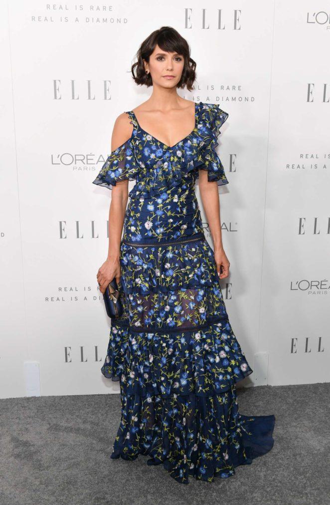 Nina Dobrev - ELLE's 24th Annual Women in Hollywood Celebration in LA
