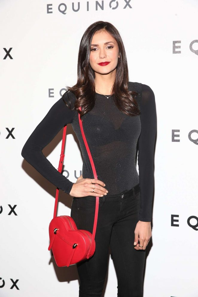 Nina Dobrev - Equinox Hollywood Body Spectacle Event in LA