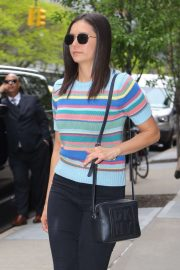 Nina Dobrev - Exiting the Greenwich Hotel in New York City