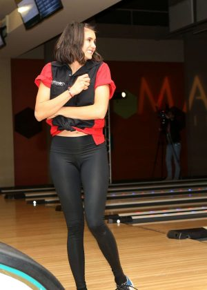 Nina Dobrev - First Annual Mammoth Film Festival Bowling Tournament in Mammoth Lakes