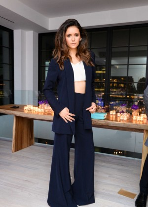 Nina Dobrev - Founding Member Launch Dinner in NYC