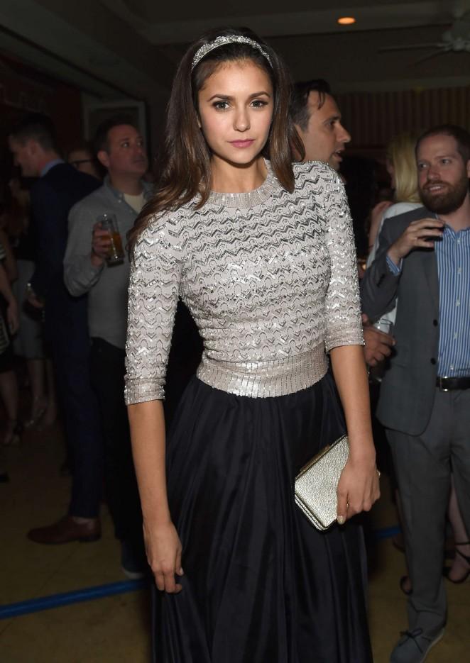 Nina Dobrev - Grey Goose Pre-Oscar Party 2015 in West Hollywood