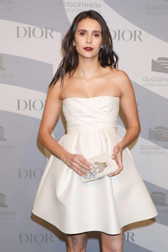 Nina Dobrev - Guggenheim International Gala 2019 in New York