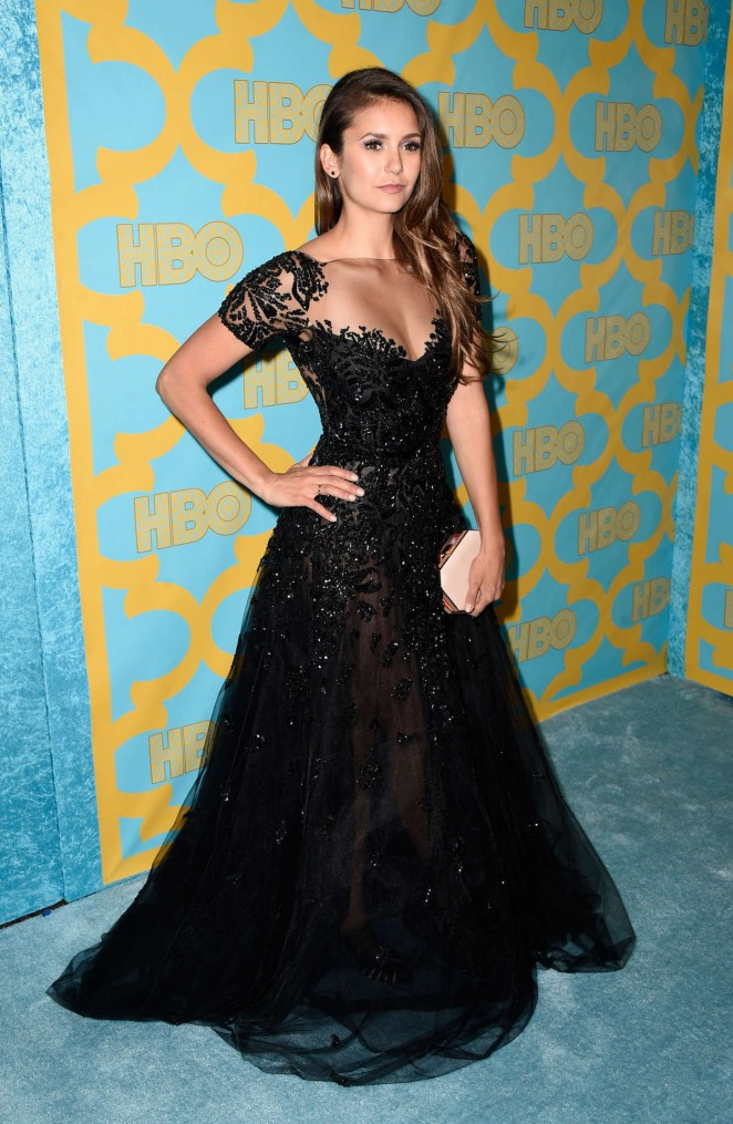 Nina Dobrev - HBO Golden Globes 2015 Party