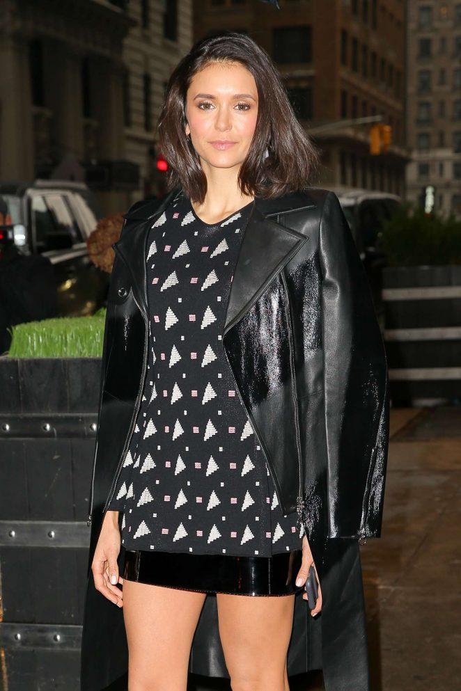 Nina Dobrev - Heading to AOL Studios to Promote 'XXX: Return of Xander Cage' in NYC