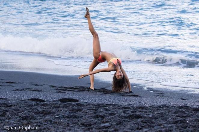 Nina Dobrev in Bikini - Instagram Pic