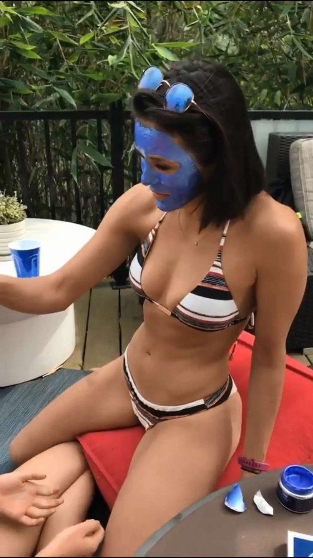 Nina Dobrev in Bikini - Personal Pics