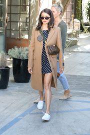 Nina Dobrev - Leaves Nine Zero One salon in Los Angeles