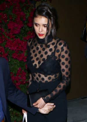 Nina Dobrev Leaves the Power Stylists Dinner in West Hollywood