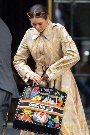 Nina Dobrev - Leaving The Bowery Hotel in New York