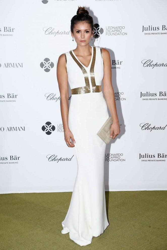 Nina Dobrev - Leonardo DiCaprio's Charity Gala in St. Tropez
