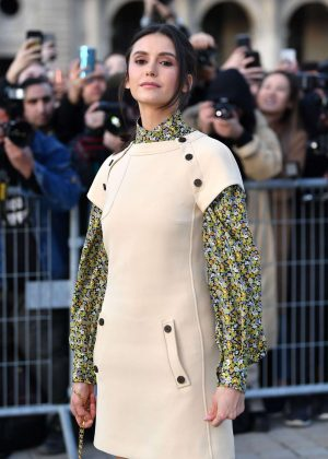 Nina Dobrev - Louis Vuitton Fashion Show in Paris