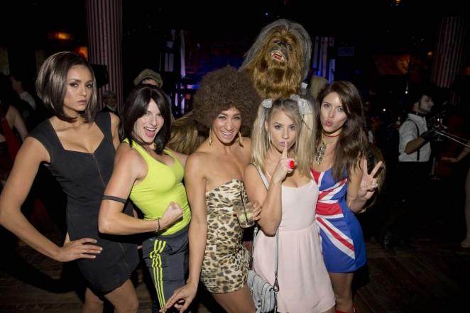 Nina Dobrev - Matthew Morrison's 6th Annual Halloween Masquerade Ball in LA