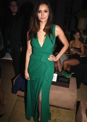 Nina Dobrev - Michael Sugar Pre-Oscar Party 2016 in West Hollywood