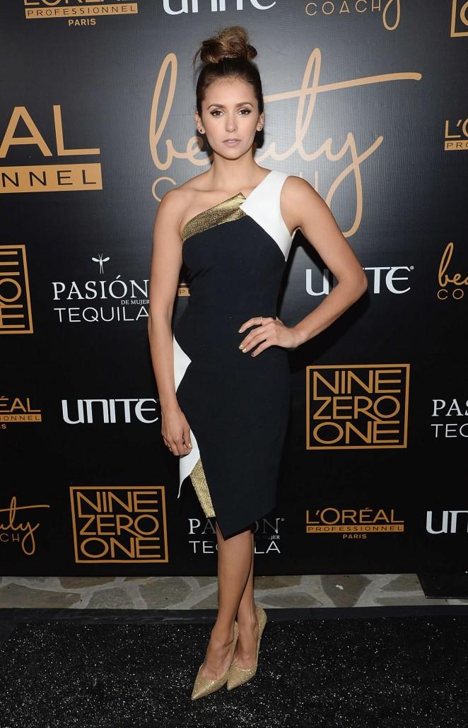 Nina Dobrev - Nine Zero One Salon Melrose Place Launch Party in LA