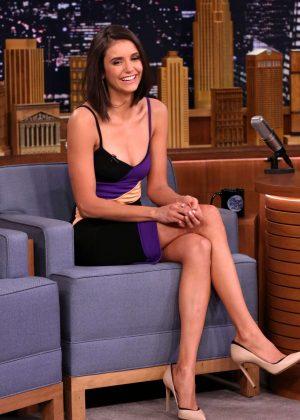Nina Dobrev on 'The Tonight Show Starring Jimmy Fallon' in NY