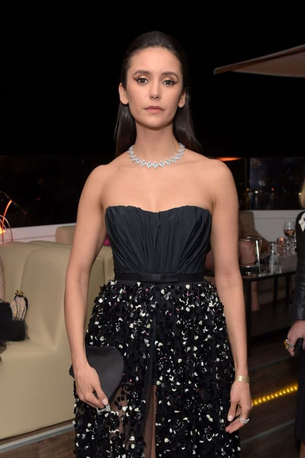Nina Dobrev - 'Once Upon A Time In Hollywood' After Party in Cannes