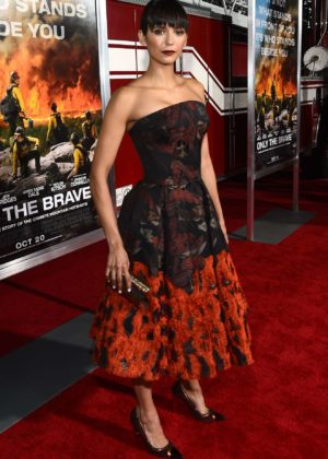Nina Dobrev - Only The Brave premiere in Westwood