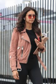 Nina Dobrev - Out in West Hollywood
