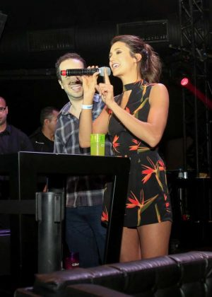 Nina Dobrev - Party at Villa Mix Nightclub in Sao Paulo