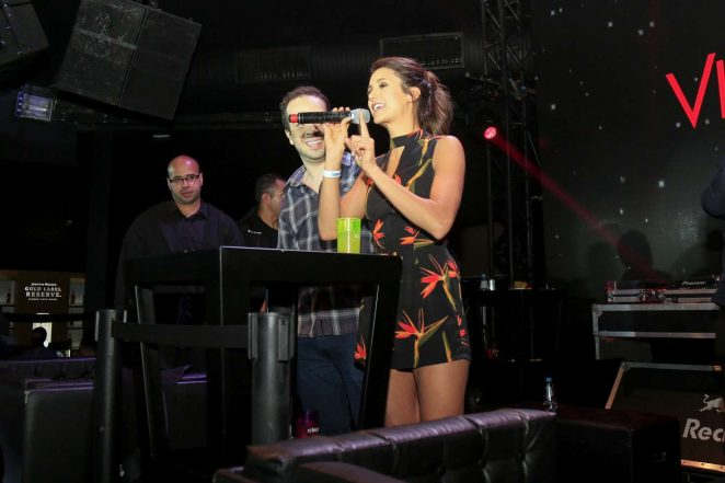 Nina Dobrev - Party at Villa Mix Nightclub in Sao Paulo