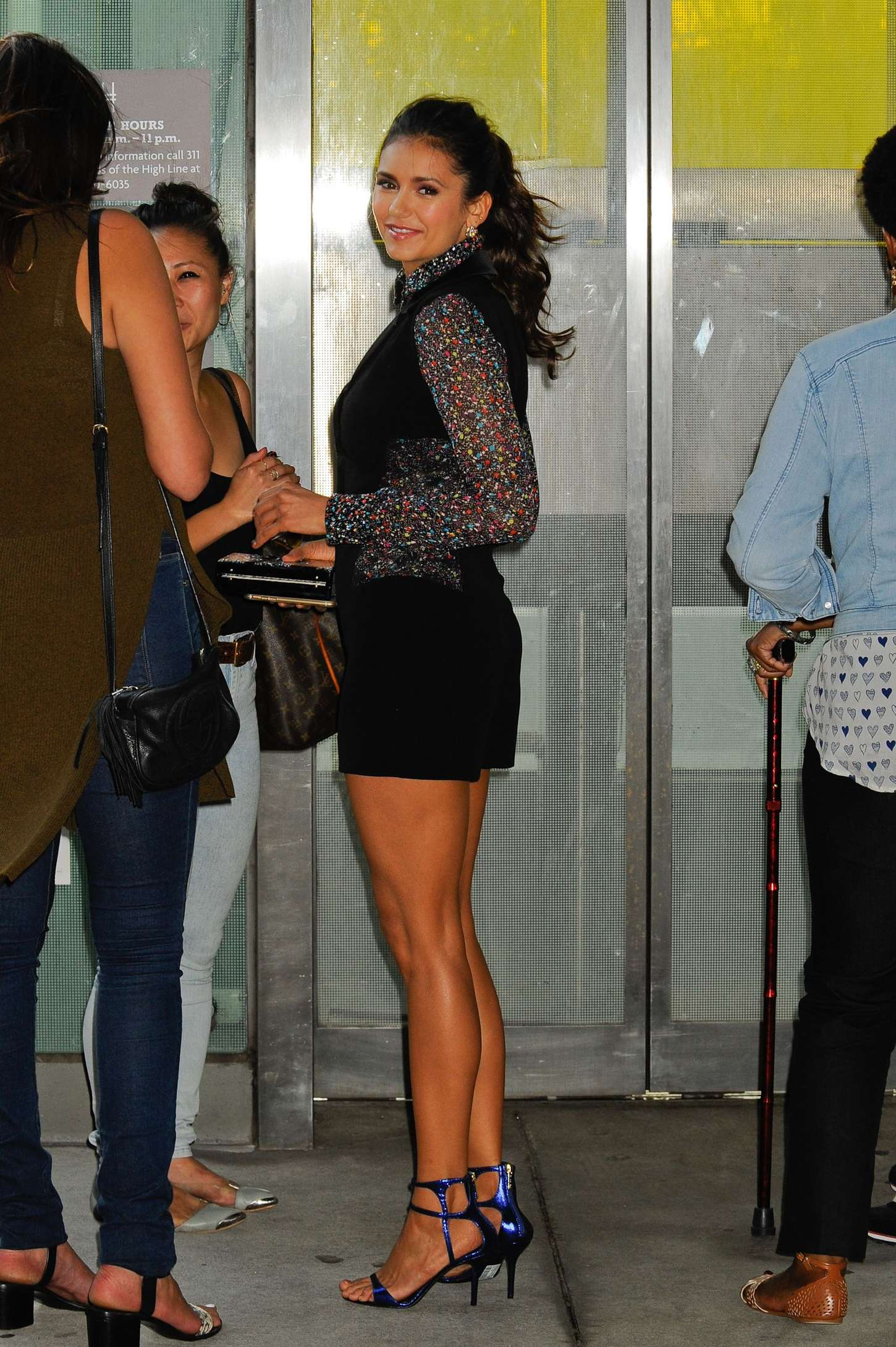 Nina Dobrev People Stylewatch Party 2015 20 Gotceleb