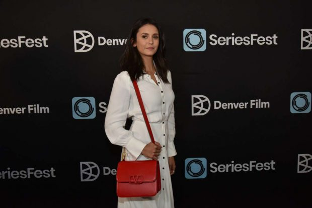 Nina Dobrev: Photocall at SeriesFest Benefit Event Celebrating TV and Music in Morrison-03