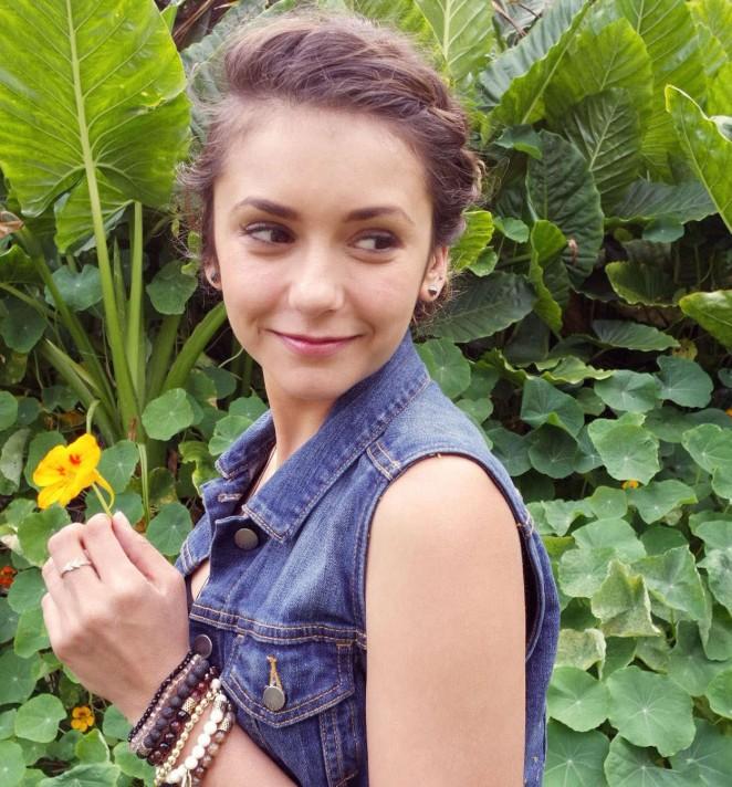 Nina Dobrev - Photoshoot for Beauty Coach