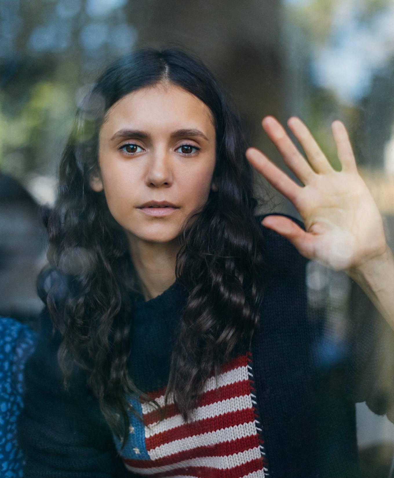 Nina Dobrev - Quarantine Portrait Series - April 2020