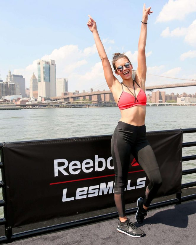 Nina Dobrev - Reebok and Les Mills Present The Ultimate Staycation in NYC