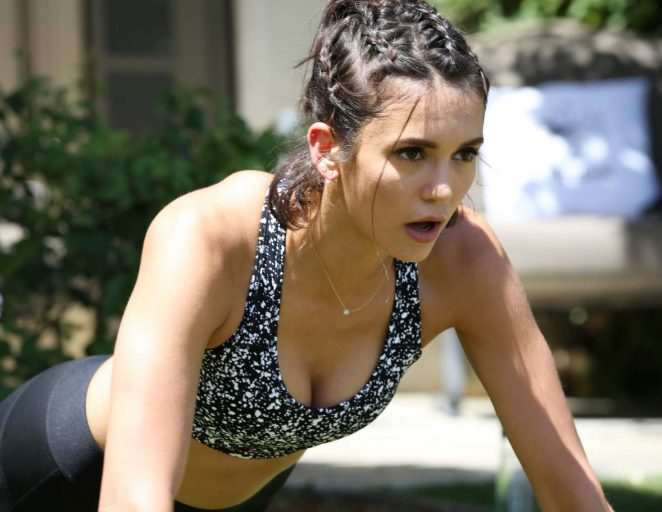Nina Dobrev - Reebok Classic Crib: Hosted by Nina Dobrev at La Quinta in LA