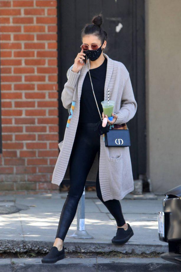 Nina Dobrev - Running errands at Melrose Pl in West Hollywood