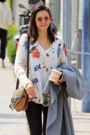 Nina Dobrev - Shopping at Maxfield's in West Hollywood